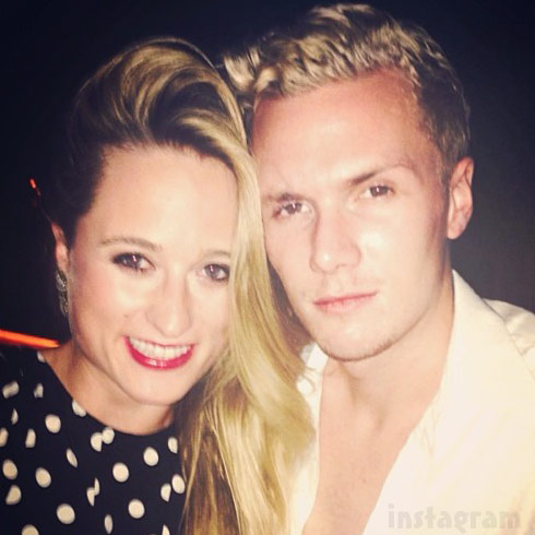 Barron Hilton and cousin Whitney Davis, daughter of Kim Richards from The Real Housewives of Beverly Hills