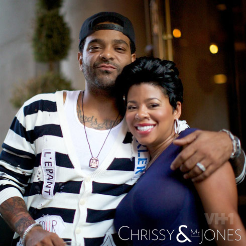Chrissy Lampkin and Jim Jones Chrissy and Mr. Jones