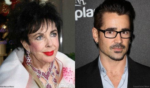 Elizabeth Taylor and Colin Farrell Relationship