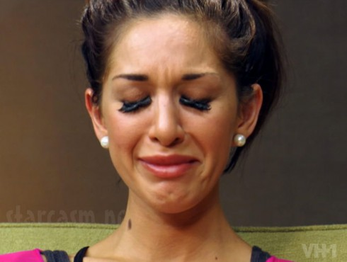 Farrah Abraham cry face Couples Therapy