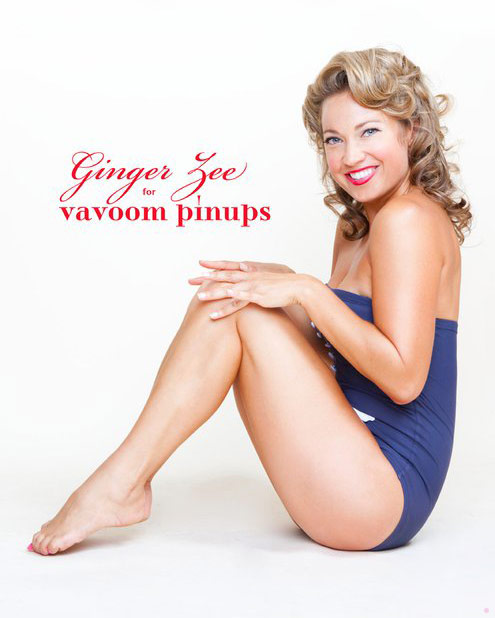 GMA Ginger Zee pinup
