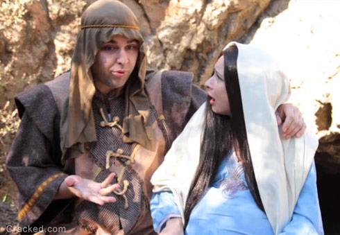 Joseph and the Virgin Mary's 16 and Pregnant episode