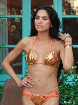Joyce Giraud bikini photo