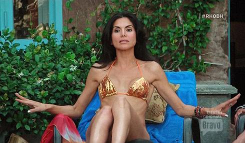 RHOBH Joyce Giraud bikini pool