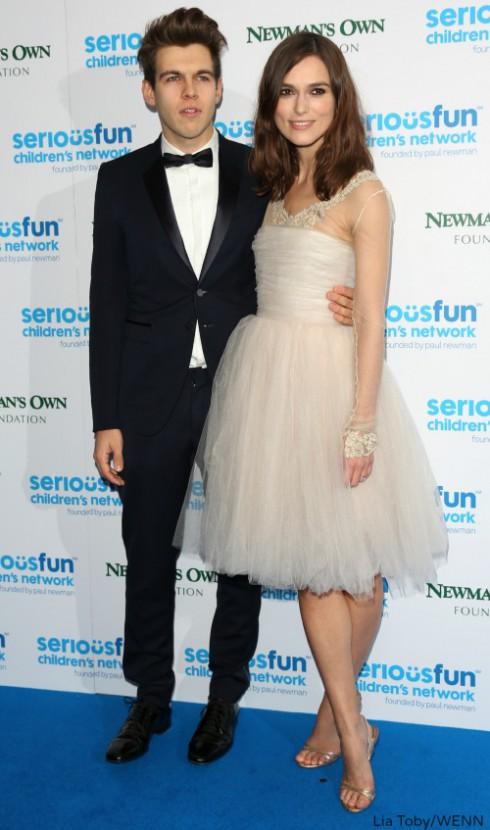 Keira Knightley and Husband James Righton