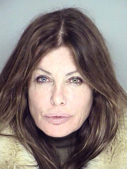 Kelly LeBrock mug shot photo from 2013 DUI arrest