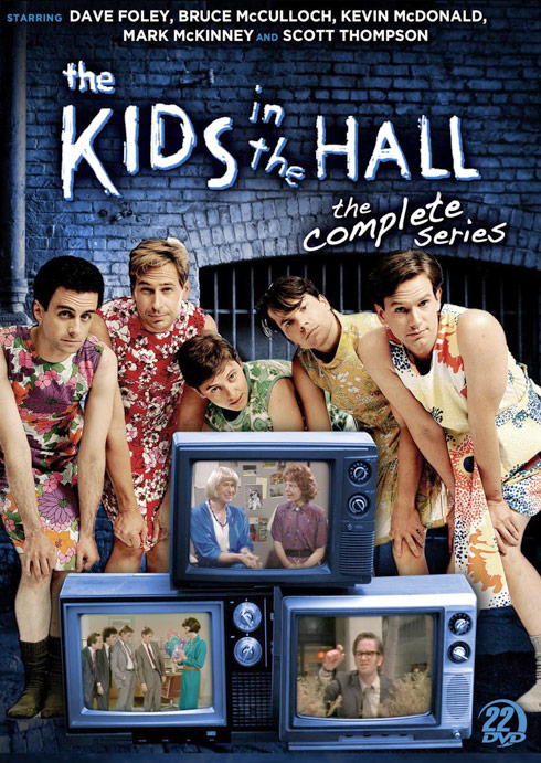 The Kids In The Hall DVD cover