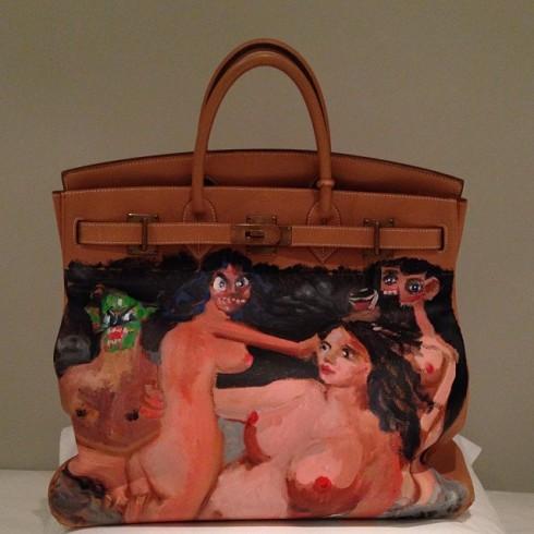 Kim Kardashian Hermes Bag