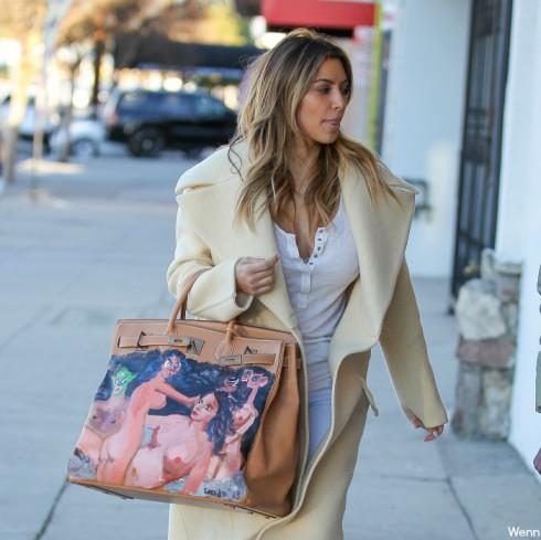 Kim Kardashian Hermes Birkin Bag