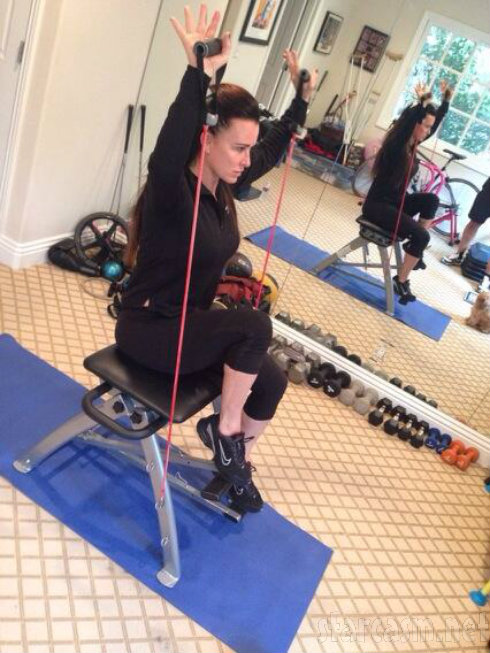 Kyle Richards - Bruciare Fitness Chair