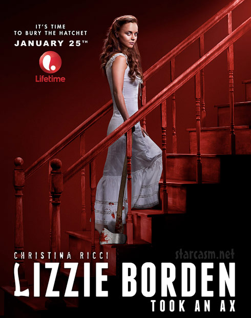 Lifetime Lizzie Borden Took An Ax poster starring Christina Ricci
