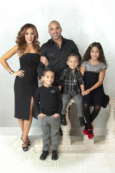2013 Melissa Gorga family Christmas card photos