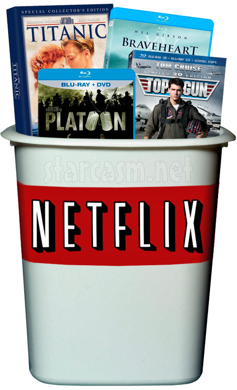Complete list of TV Show and movie titles being deleted by Netflix January 1st 2014