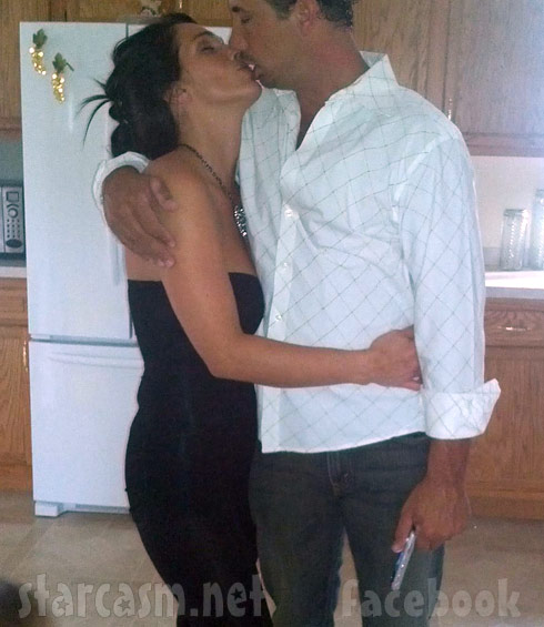 Gypsy Sisters Nettie Stanley and husband Huey Stanley kissing