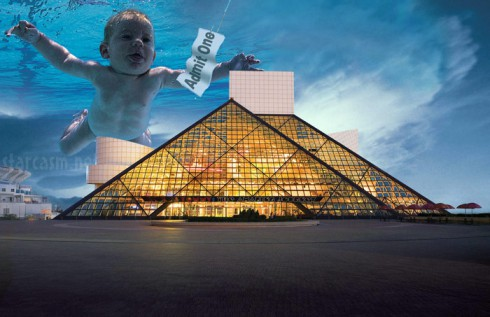 Nirvana Rock and Roll Hall of Fame Nevermind