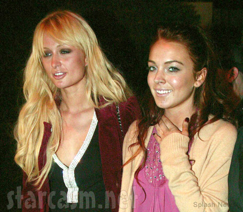 Paris Hilton and Lindsay Lohan together in 2004