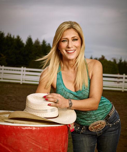 Rodeo Girls Barb West professional barrel racer