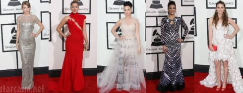 56th Annual Grammy Awards Fashion