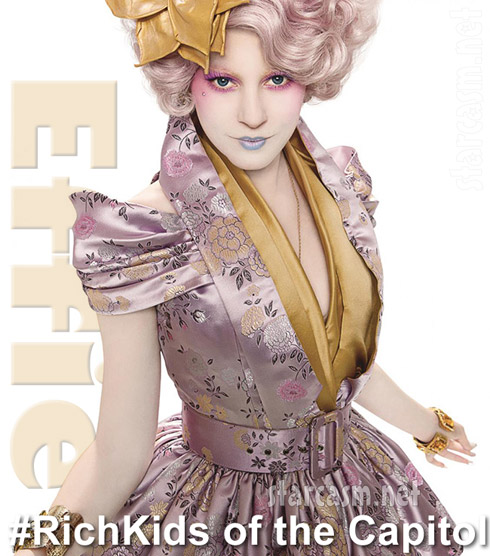 Hunger Games Effie Trinket Rich Kids of The Capitol