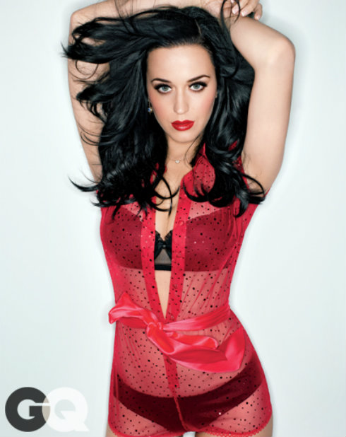GQ - Katy Perry Body Suit