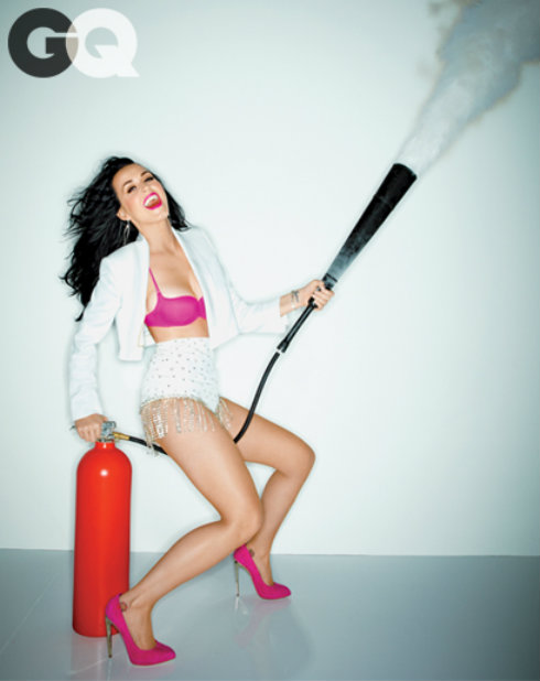 GQ - Katy Perry Fire