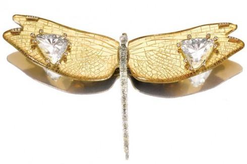 Jeweler Joel Arthur Rosenthal insect broach JAR