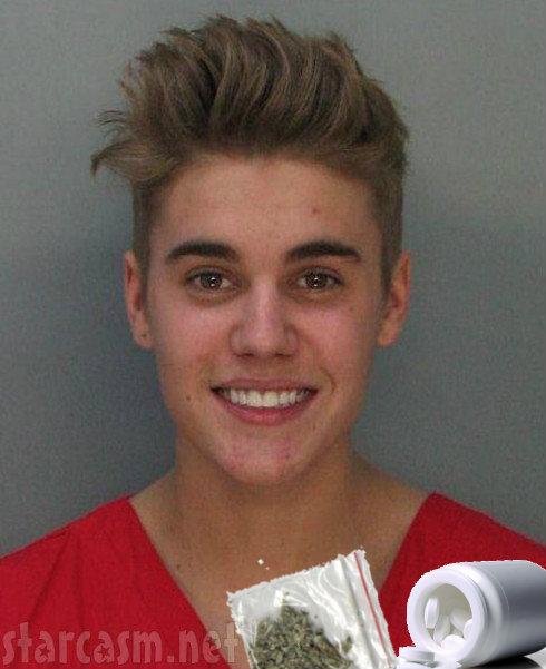 Justin Mug Shot Weed Pills