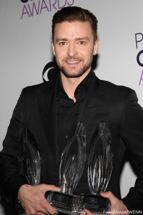 Justin Timberlake - Peoples Choice Awards 2014