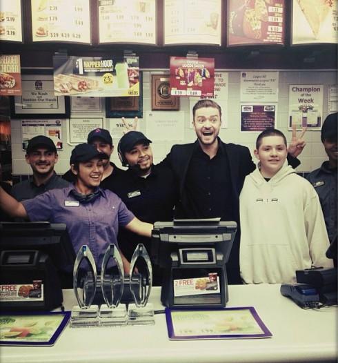 Justin Timberlake - Taco Bell - Peoples Choice