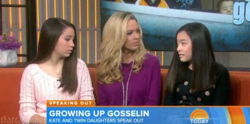 Kate Gosselin - Today Show - Mady Cara Gosselin