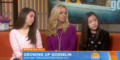 Kate Mady Cara Gosselin - Today Show