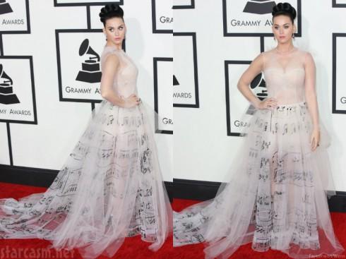 Katy Perry - Grammys Fashion