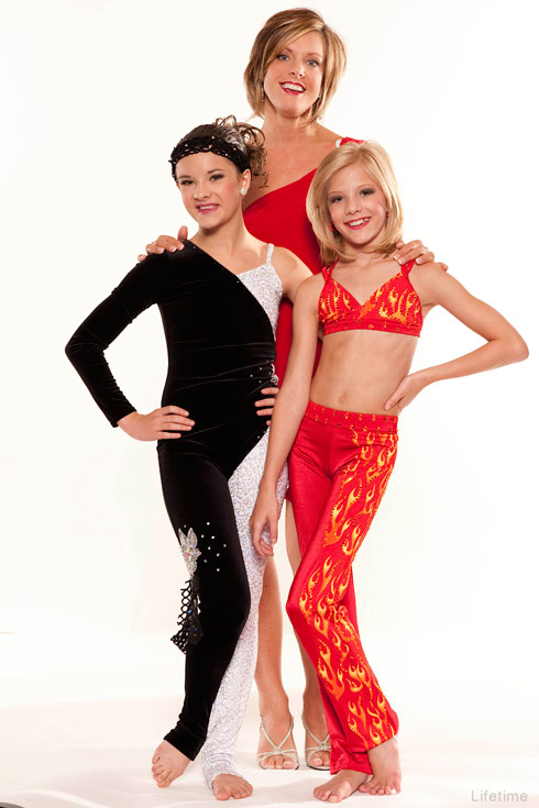 Dance Moms Kelly Hyland and daughters Brooke Hyland and Paige Hyland