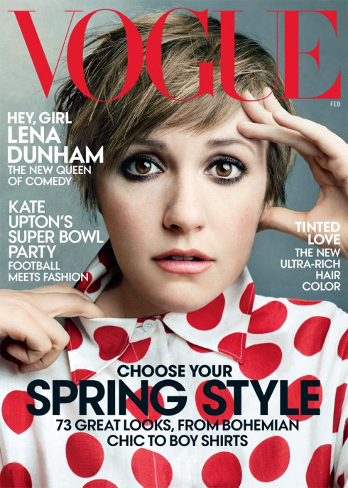 Lena Dunham - Vogue - February 2014