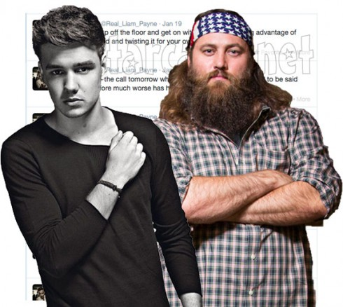 Willie Robertson Liam Payne