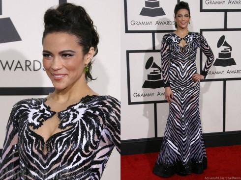 Paula Patton - Grammys Fashion