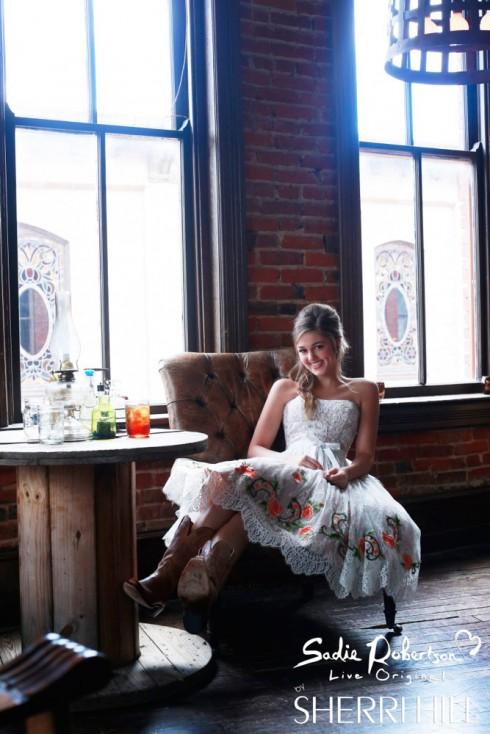 Sherri Hill Sadie Robertson prom dress