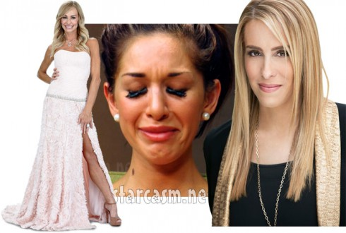 Couples Therapy co-stars Taylor Armstrong and Farrah Abraham with host Dr. Jenn Berman