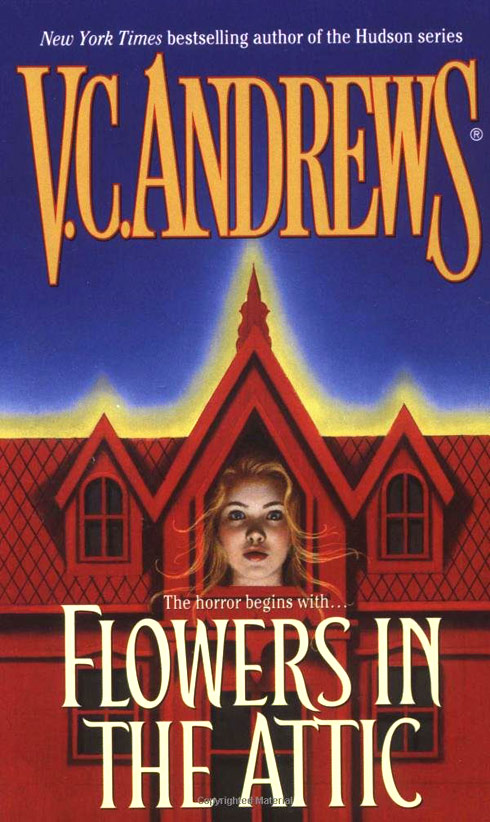 V.C. Andrews Flowers In The Attic book cover