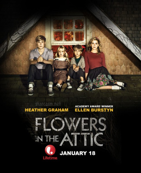 Flowers In The Attic Lifetime movie poster