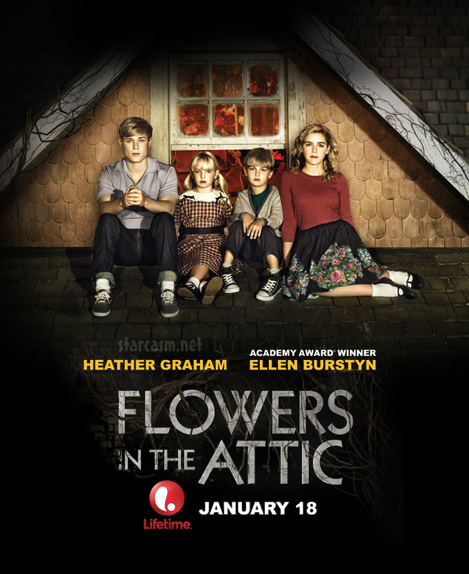 vc andrews flowers in the attic true story