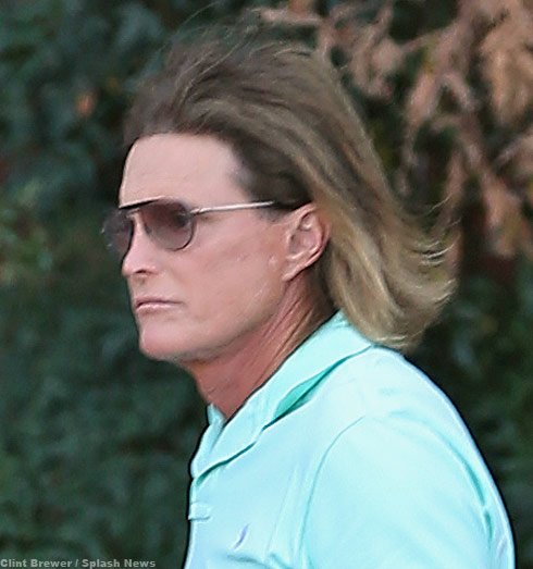 Bruce Jenner gets hair like Khloe and Kylie