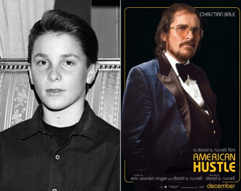 Christian Bale Throwback Oscar