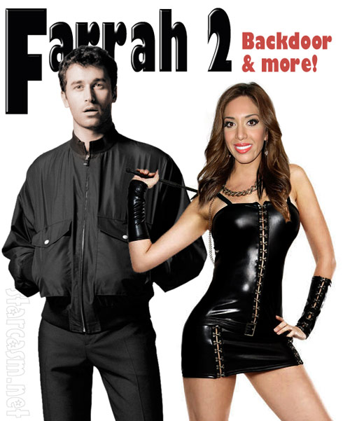Vivid releasing second Farrah Abraham sex tape titled Farrah 2 Backdoor and More