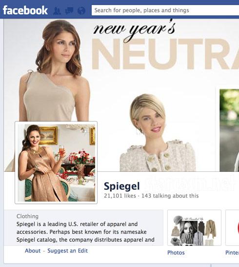 Kate Stoltzfus Spiegel Facebook page