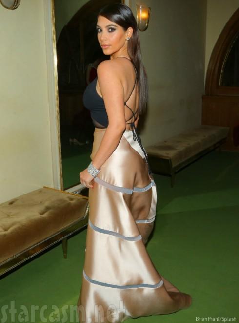 Kim Kardashian Opera Ball Gown