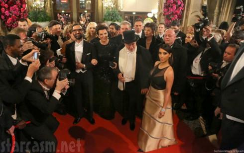 Kim Kardashian - Richard Lugner Opera Ball