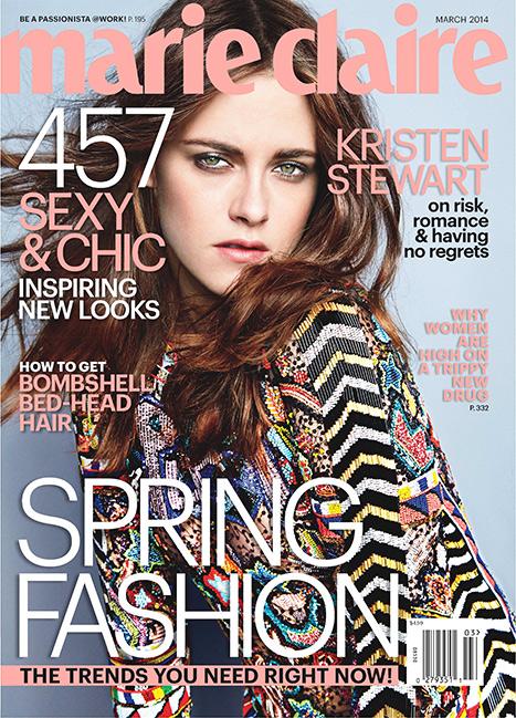 Kristen Stewart - Marie Claire - March 2014
