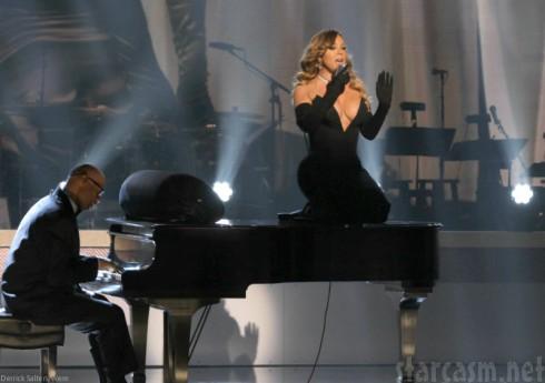 Mariah Carey Atop Piano - BET Honors