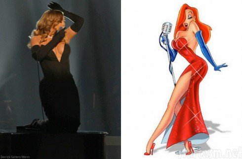 Mariah Carey - Jessica Rabbit - BET Honors
